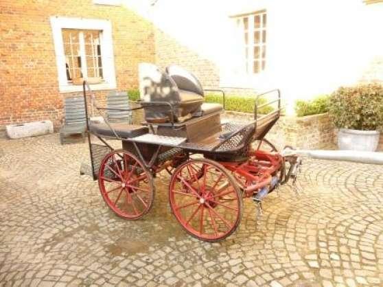 voiture marathon 2 chevaux animaux chariots carrosses belgique bruxelles reference ani. Black Bedroom Furniture Sets. Home Design Ideas