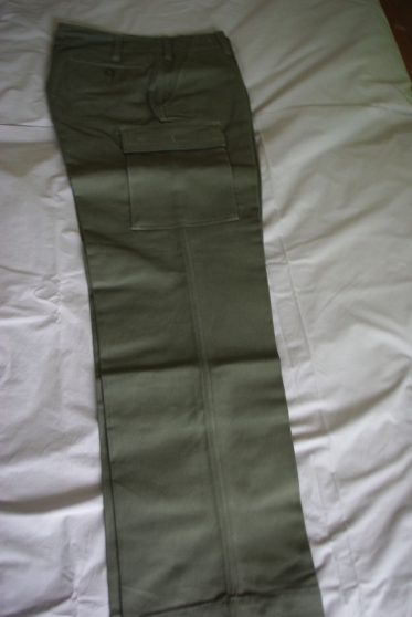 Pantalon Coton Moleskine neuf