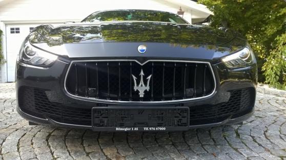 Maserati Ghibli 3.0 v6 diesel