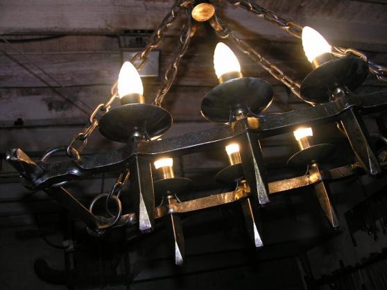 suspension piece unique ferronnerie d'ar