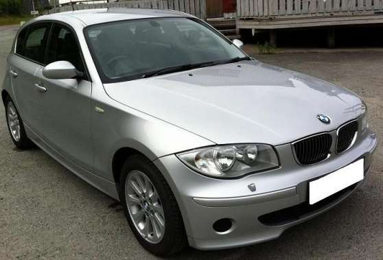 BMW 1-serie 2005 gris métal