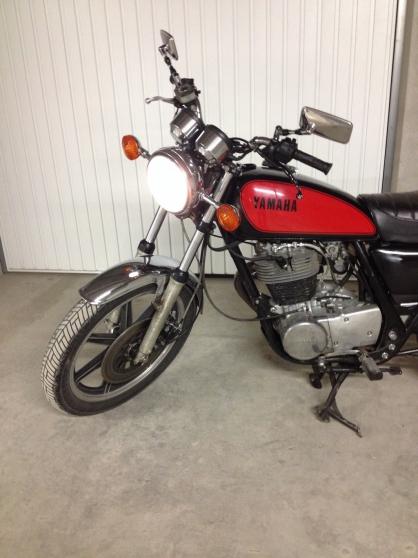 yamaha sr 500 2j4 de 1979 grenoble moto scooter v lo. Black Bedroom Furniture Sets. Home Design Ideas
