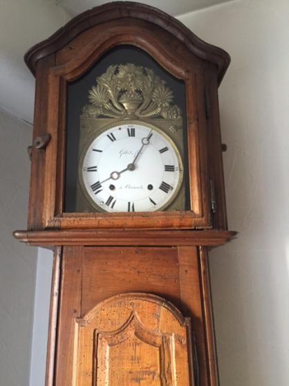 horloge comtoise clermont ferrand antiquit art. Black Bedroom Furniture Sets. Home Design Ideas