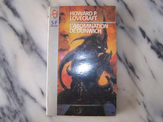 Annonce occasion, vente ou achat 'Livro L\'Abominatio de Dunwich'