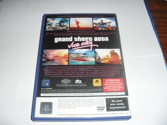 Jeu PS2 GTA Vice city - Photo 3