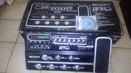 zoom guitare g7 1.ut