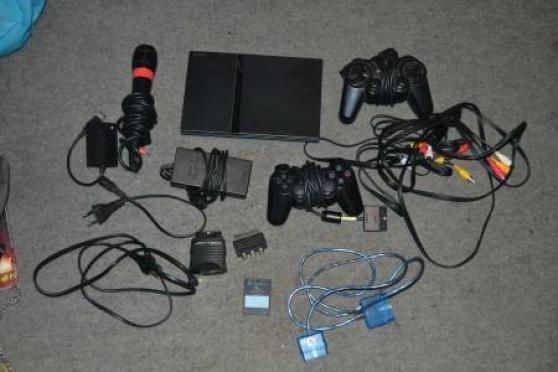 Playstation 2 Slim Noir + accessoires +