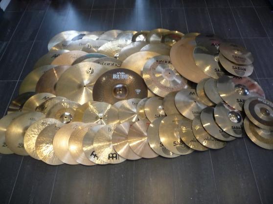cymbales zildjian/ sabian/ paiste etc - Annonce gratuite marche.fr