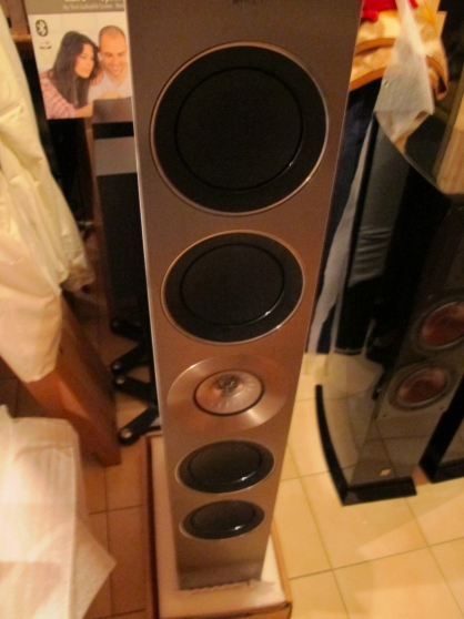 Kef reference 5 high end stand haut-parl