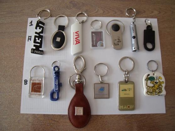 Porte clefs Prix 50 cts l'un