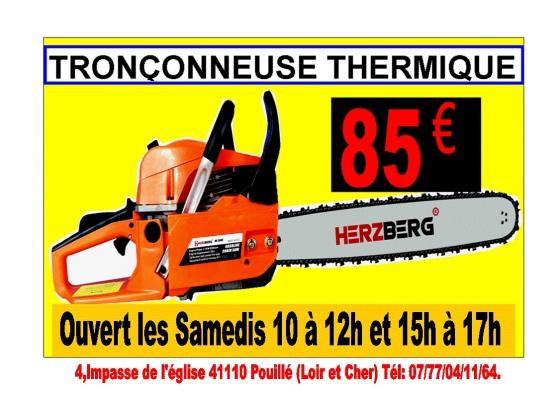 Annonce occasion, vente ou achat 'Tronçonneuse thermique'