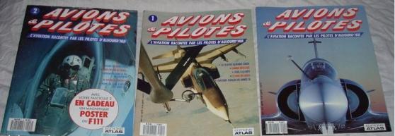 Annonce occasion, vente ou achat '3 Livres Avions Et Pilotes'