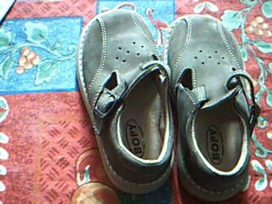 Chaussures cuir neuves enfant BOPY
