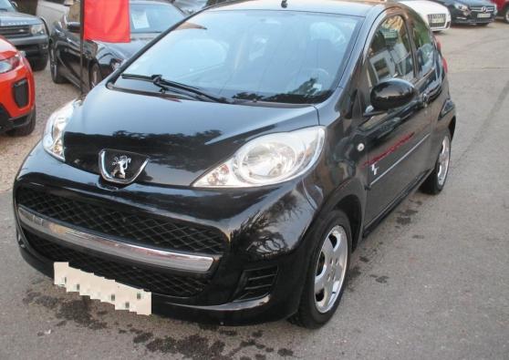 Peugeot 107 (2) 1.0 68ch black/silver