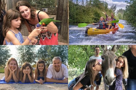 Photo en famille dans l Eure