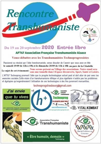 Annonce occasion, vente ou achat 'Transhumaniste village des associations'