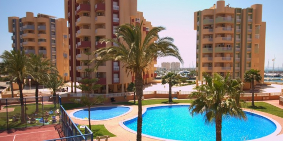 Appartement neuf collé au mar menor