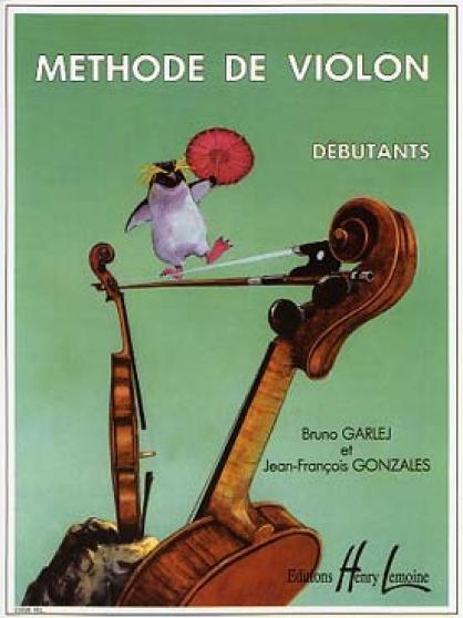 Méthode de violon Débutants GARLEJ-GONZA
