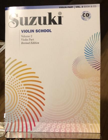 Annonce occasion, vente ou achat 'Methode Suzuki violon, volume 2 INTACT'