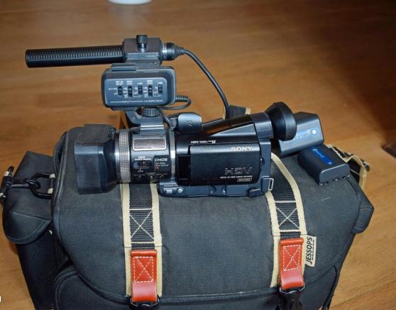 PRO Sony HVR-A1E video caméscope numériq
