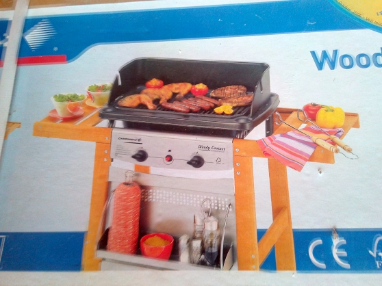 Barbecue neuf Campingaz Woody Contact