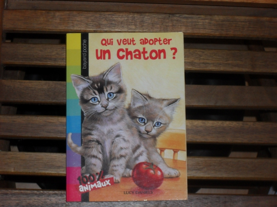 Livre Qui veut adopter un chaton ?