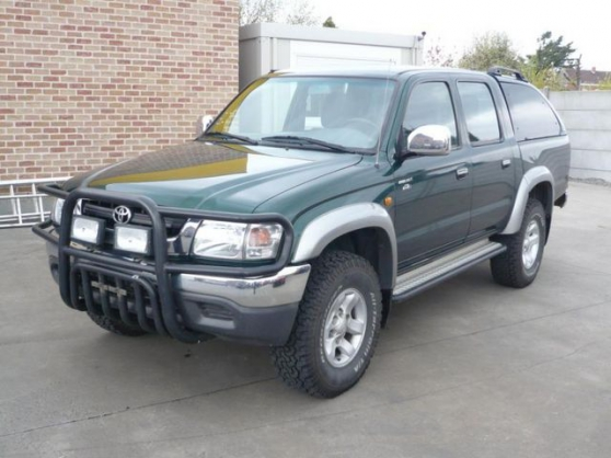 Toyota hilux double cabine pare-buffle