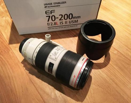 Objectif Canon 70-200 mm F/2.8L IS II US