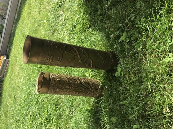 Annonce occasion, vente ou achat 'Plusieurs Obu en bronze grave'