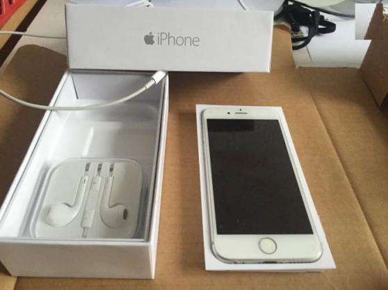 Iphone 6 argent 16go etat neuf - Photo 1