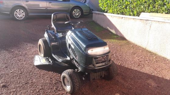 Annonce occasion, vente ou achat 'Tracteur tondeuse'