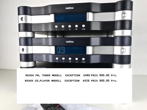 revox e460 fm tuner - Annonce gratuite marche.fr