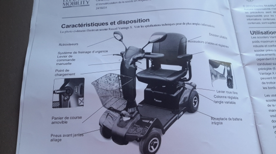SCOOTER ELECTRIQUE MEDICAL - Photo 3