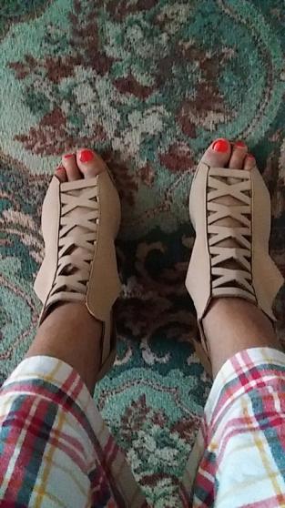 Sandales à talons pointure 39 - Photo 2