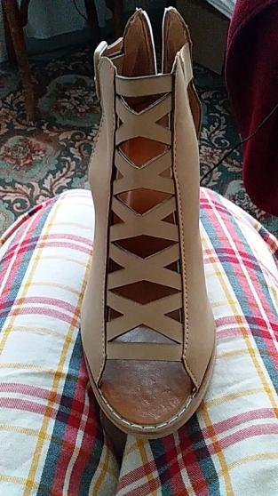 Sandales à talons pointure 39 - Photo 3