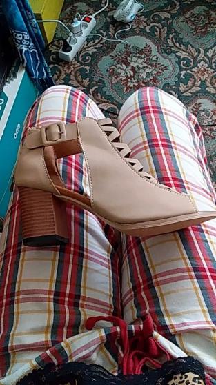 Sandales à talons pointure 39 - Photo 4