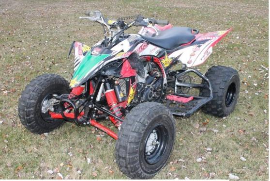 Annonce occasion, vente ou achat 'Quad Yamaha 450 YFZ R 2013 série limiT'