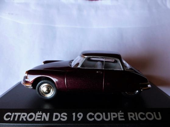CITROEN DS19 COUPE RICOU NOREV 1/43ème