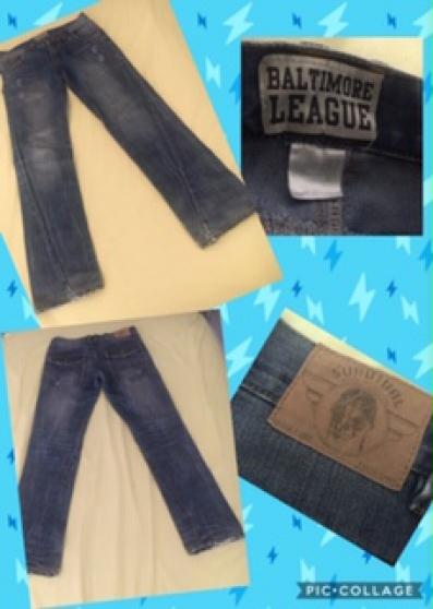 Annonce occasion, vente ou achat 'Pantalons /Jeans 12 ans baltimore league'