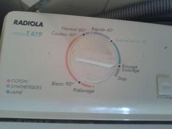 machine laver linge radiola cht dessus - Photo 3