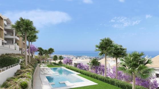 Malaga magnifiques appartements vue mer