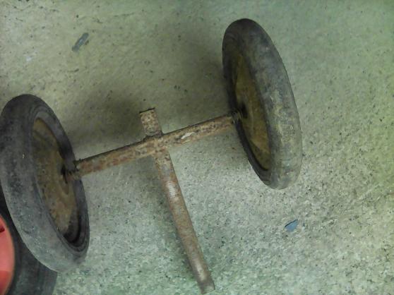 Annonce occasion, vente ou achat 'roue pleine de brouette et \