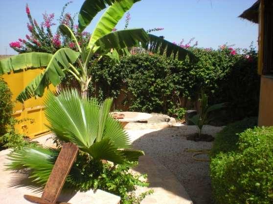 La Somone au Sénégal maison et piscine