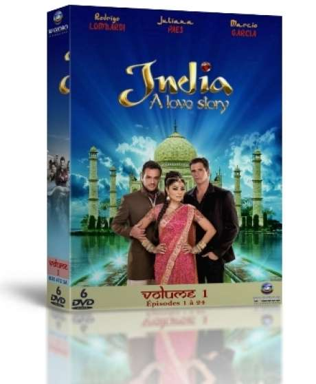 India, A Love Story en Coffret DVD