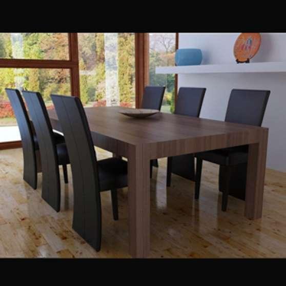 Annonce occasion, vente ou achat '6 chaises de salle à manger salon simili'