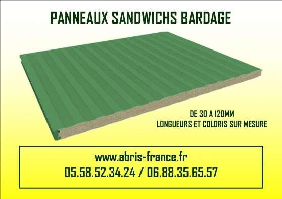BARDAGE ISOLE DE 40 A 200MM