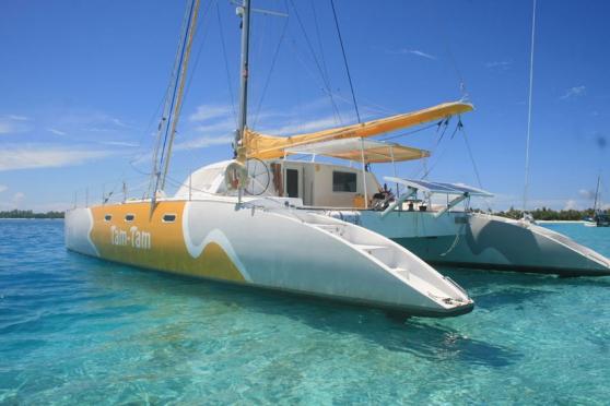 Catamaran looping 56, etat exceptionnel