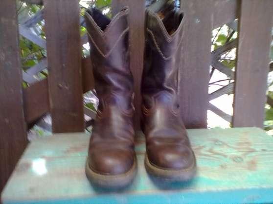 bottes western d,equitation
