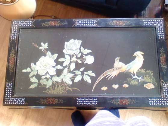 pette table chinois