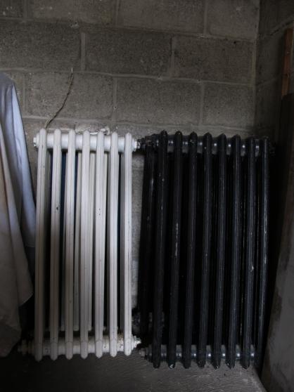 Lot de 4 radiateurs en fonte annee 60 aulnay sous bois for Brocante aulnay sous bois